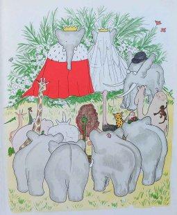 19 De bruiloft van Babar en Céleste